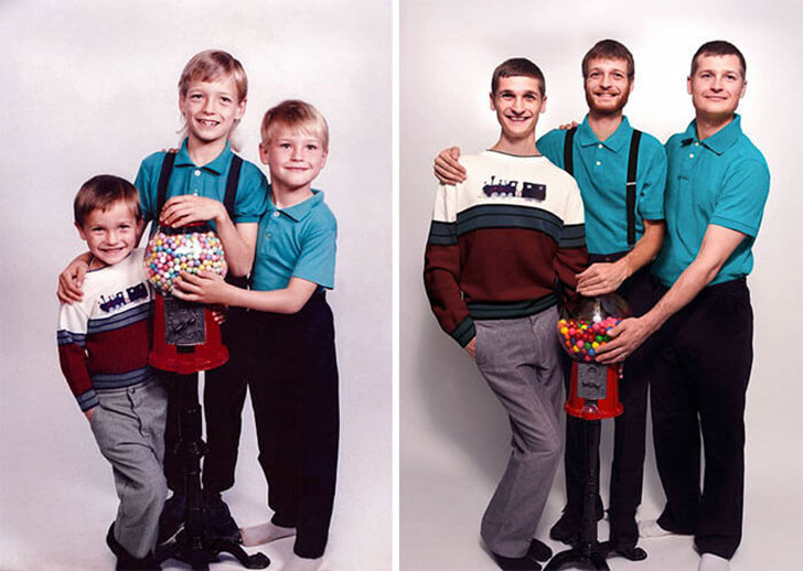 hilarious-people-who-flawlessly-recreated-their-childhood-photos_14