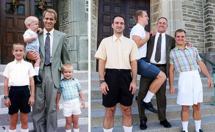 hilarious-people-who-flawlessly-recreated-their-childhood-photos_6